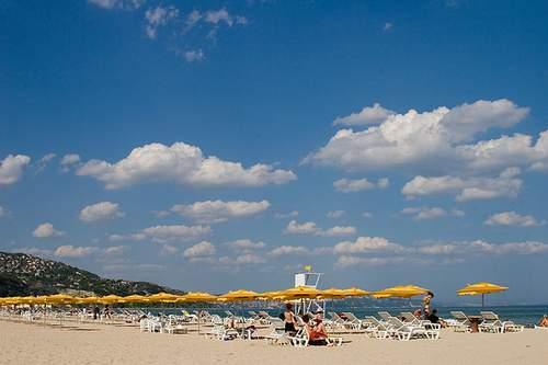 Albena Beach - пляж курорта Альбена