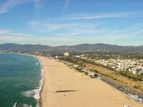 пляж Santa Monica