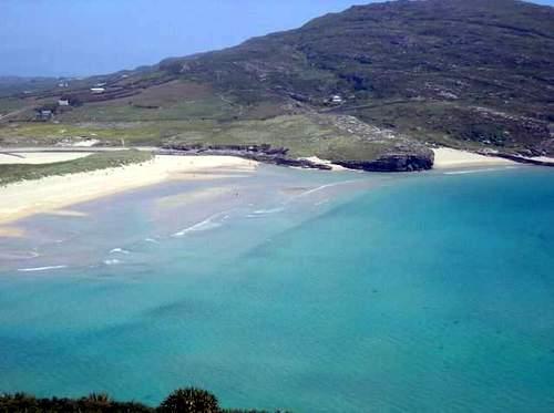 пляж Barleycove в Ирландии