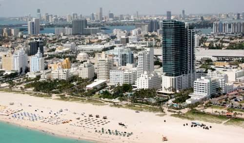 пляж South Beach, Майами (США)