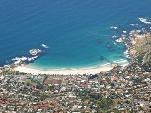пляж Clifton Beach Кейптауне ЮАР
