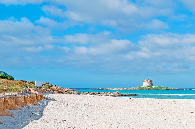 Pelosa beach sardiniya