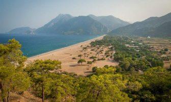Пляж Олимпос (Olympos beach), Чиралы