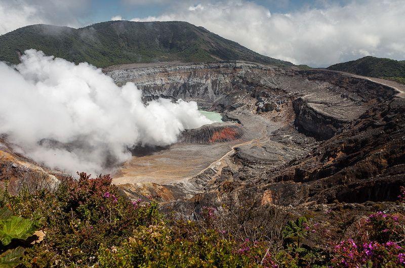 Вулканы Коста-Рики