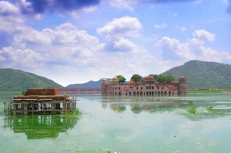 Озеро Манн Сагар, Джайпур