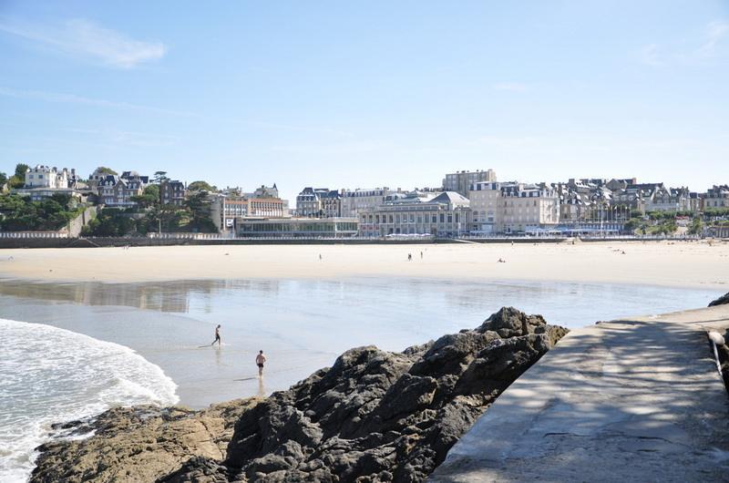 Пляж Dinard