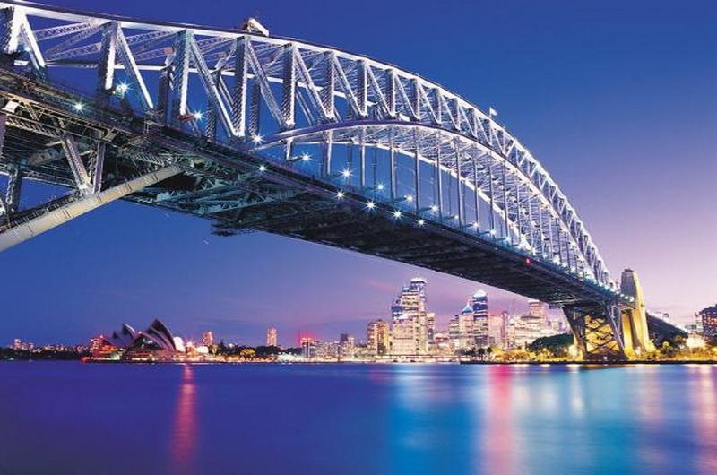 Мост Харбор-Бридж, Сидней, Австралия