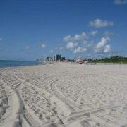Пляж Haulover beach, Флорида, США