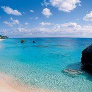 Пляж Розовых песков (Pink Sands Beach) на Багамах