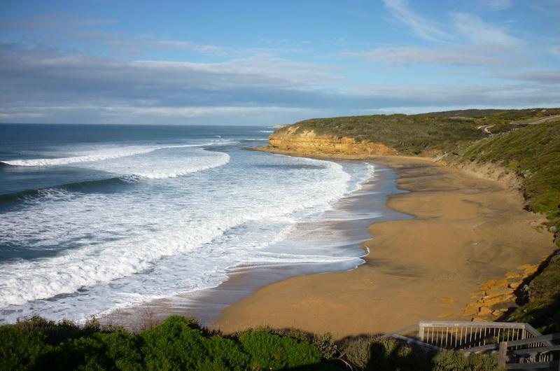 Пляж Беллс (bells beach)