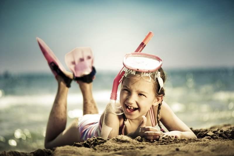 Дети на отдыхе летом картинки