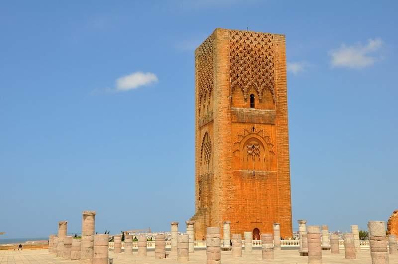 Рабат, Башня Хасана