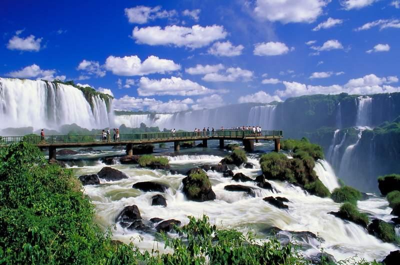 Водопад Игуасу, Бразилия