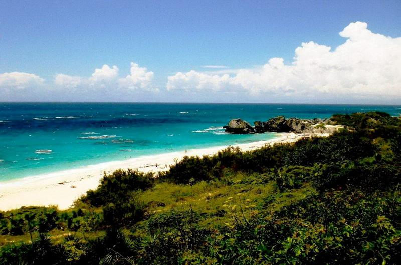 Warwick Long bay beach, Бермуды