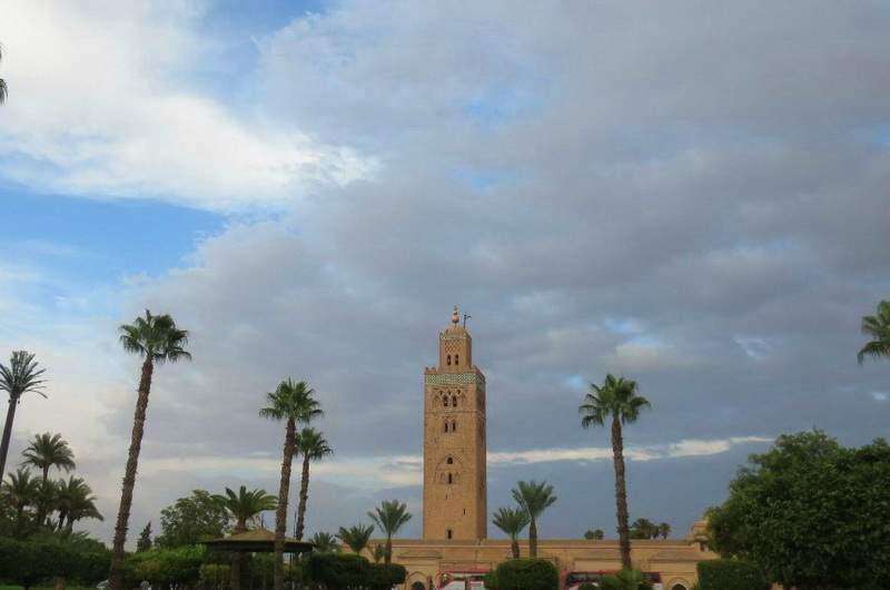 Мечеть Кутубия в Марракеше