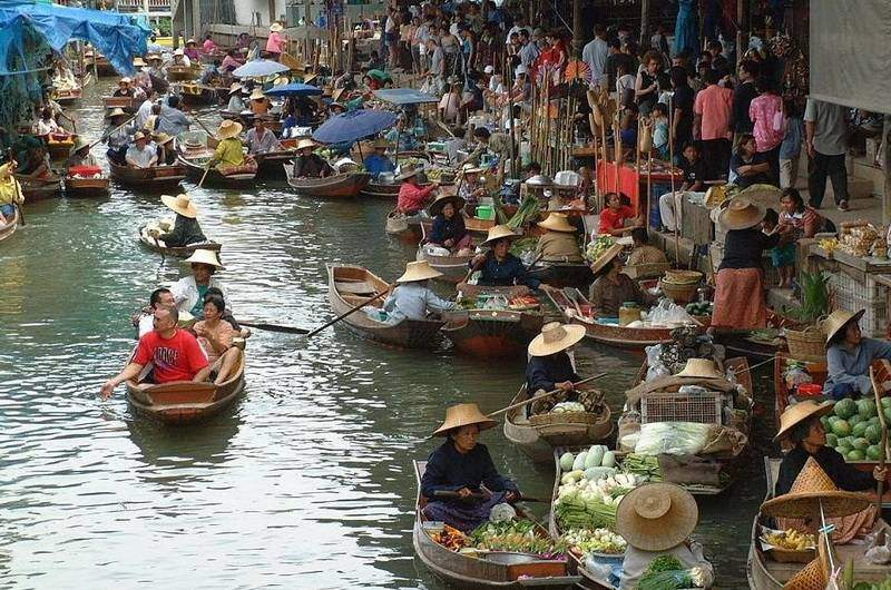 плавучий рынок Банг-Нам-Пуенг