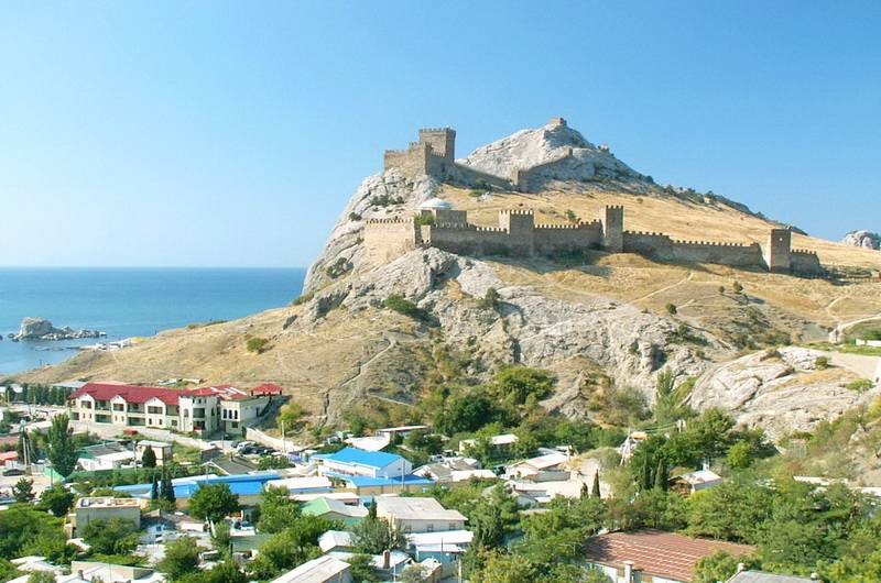 Судак. Фото Генуэзской крепости