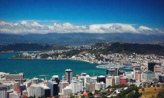 Веллингтон - столица Новой Зеландии