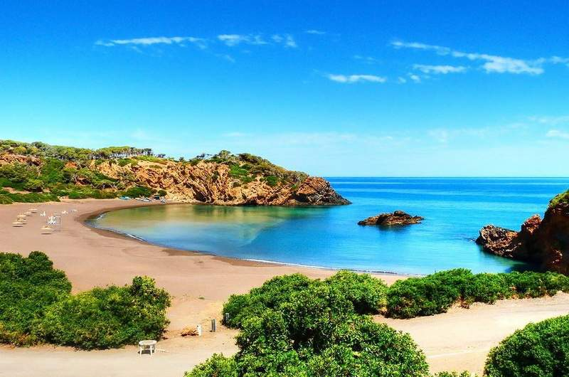 Пляжи Алжира