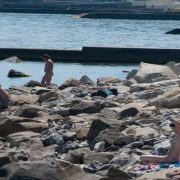 Нудистский пляж в Алуште