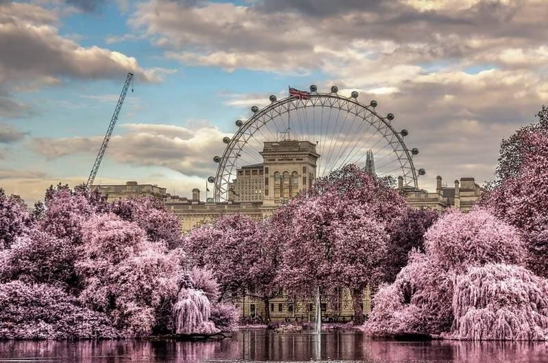 Сент-Джеймсский парк. Вестминстер, Лондон