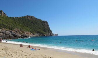 Пляж Дамлаташ, Аланья
