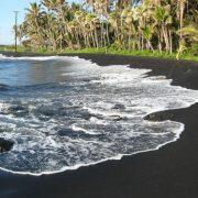 Punalu'u Beach, Гавайи