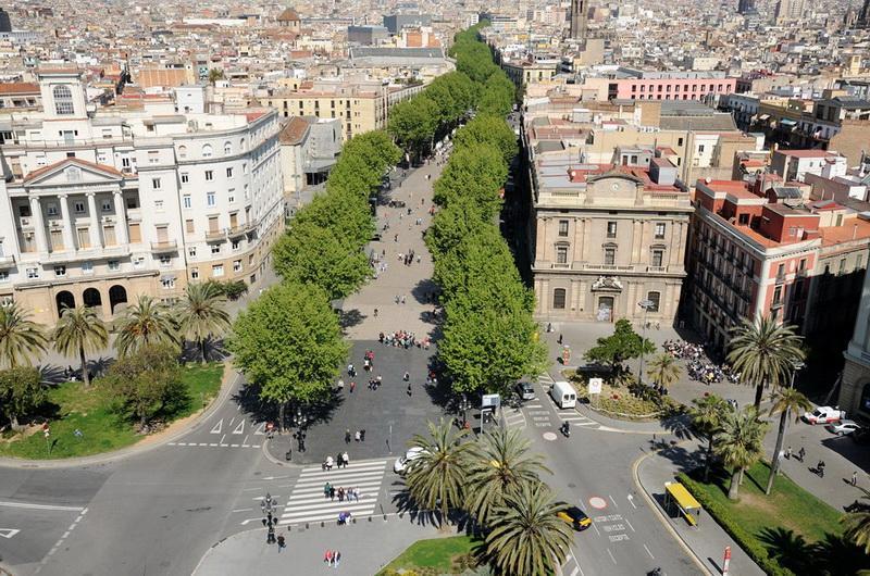Рамбла, Барселона