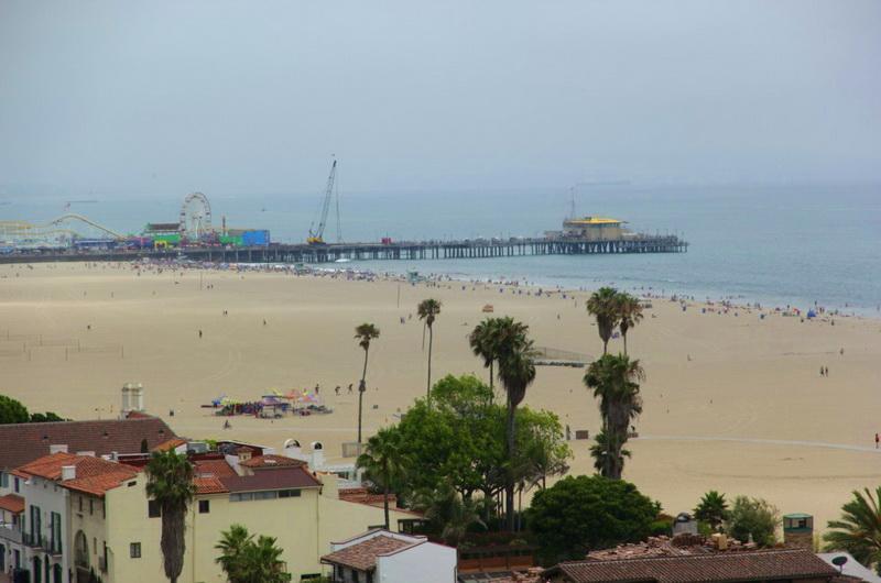 Пляж Санта-Моники