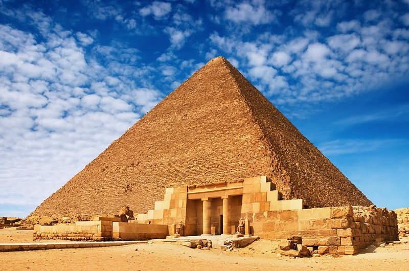 Пирамида Хеопса, Каир
