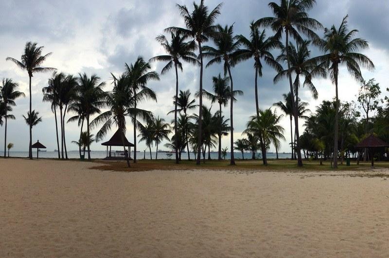 Пляжи острова Сентоза
