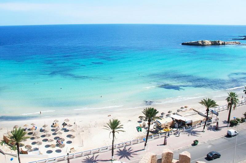 Пляжи Махдии