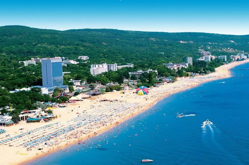 Отдых Золотые пески, Болгария