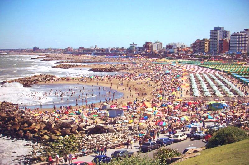 Пляжи Аргентины