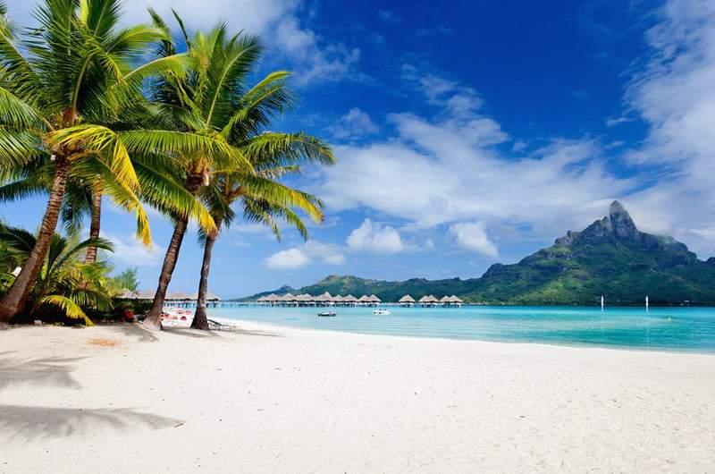 Пляжи Французской Полинезии
