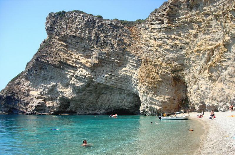 Пляж Парадайз на Корфу