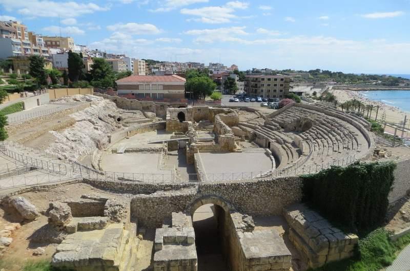 Таррагона. Разрушенный колизей