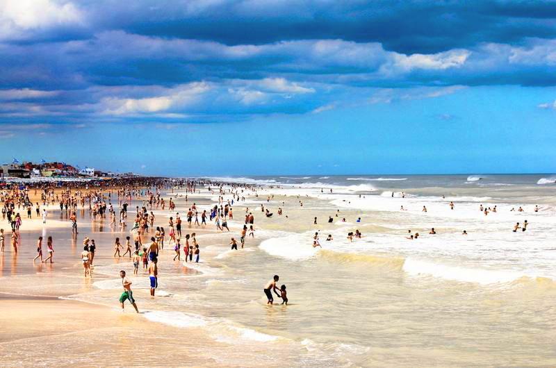 Пляжи Пинамара