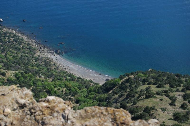 Серебрянный пляж в Балаклаве