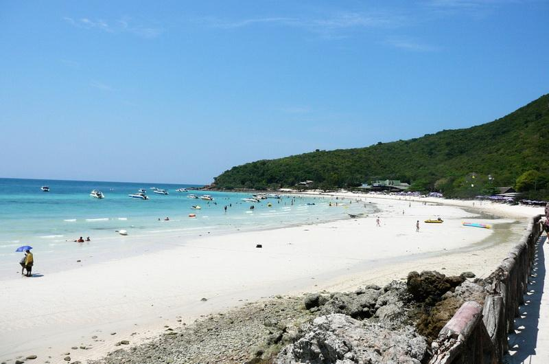 Tien beach, Koh Larn, Паттайя