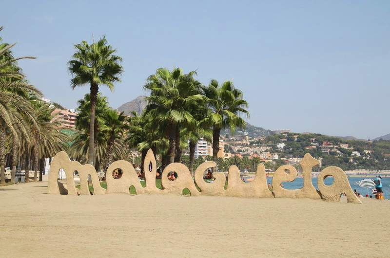 Малагета - городской пляж Малаги