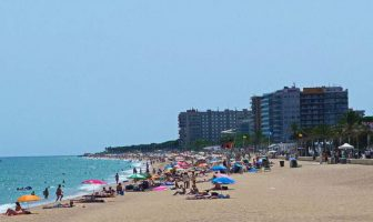 Пляж S'Abannel, Бланес, Испания
