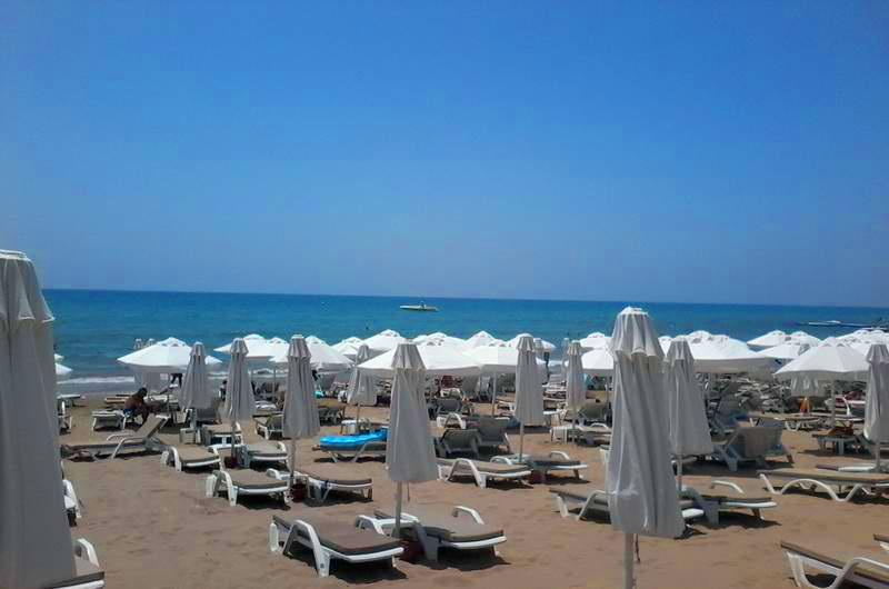 Западный пляж Сиде