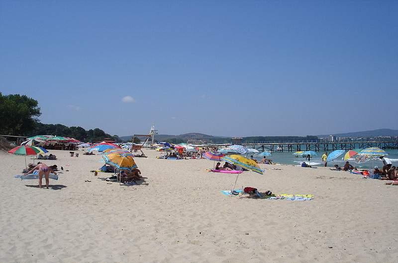 Пляж Приморско