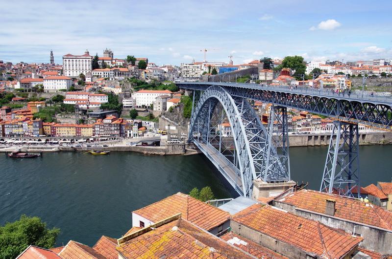 Порту, Мост дона Луиша через Дору