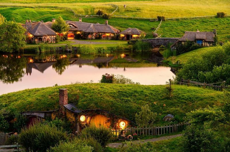 Парк Хоббитон, Матамата, Новая Зеландия