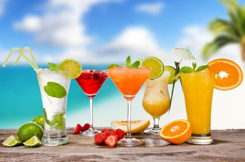 Пляжные коктейли