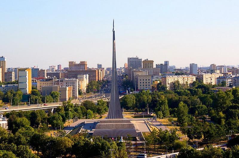 Москва, музей Космонавтики