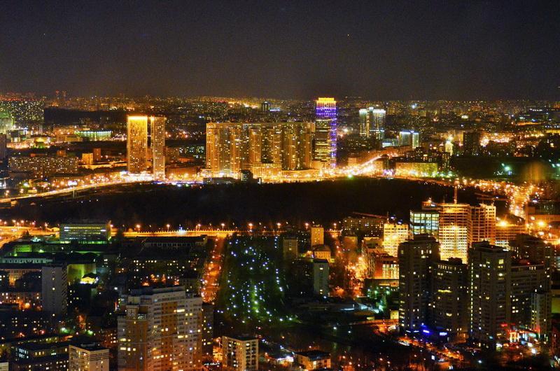 Смотровая Москва-сити