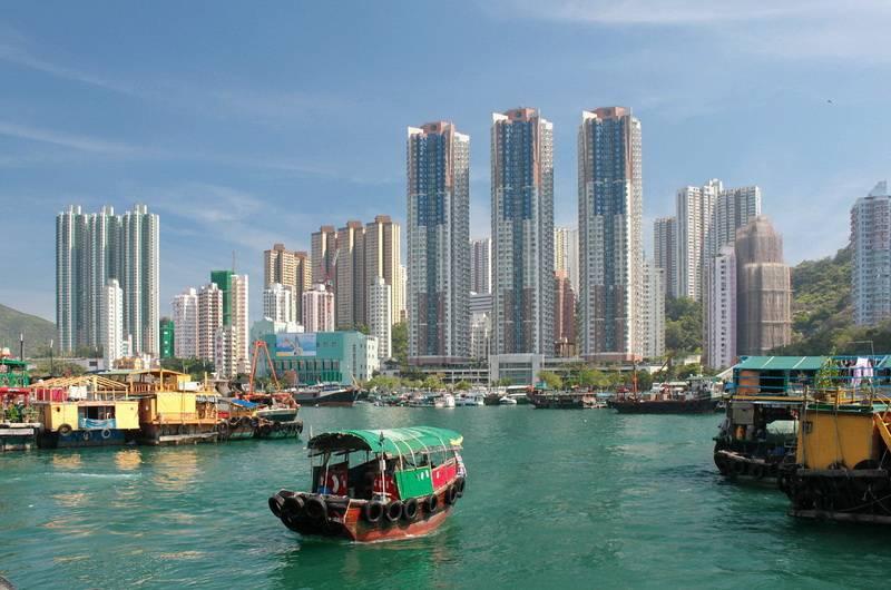 Гонконг. Бухта Абердин